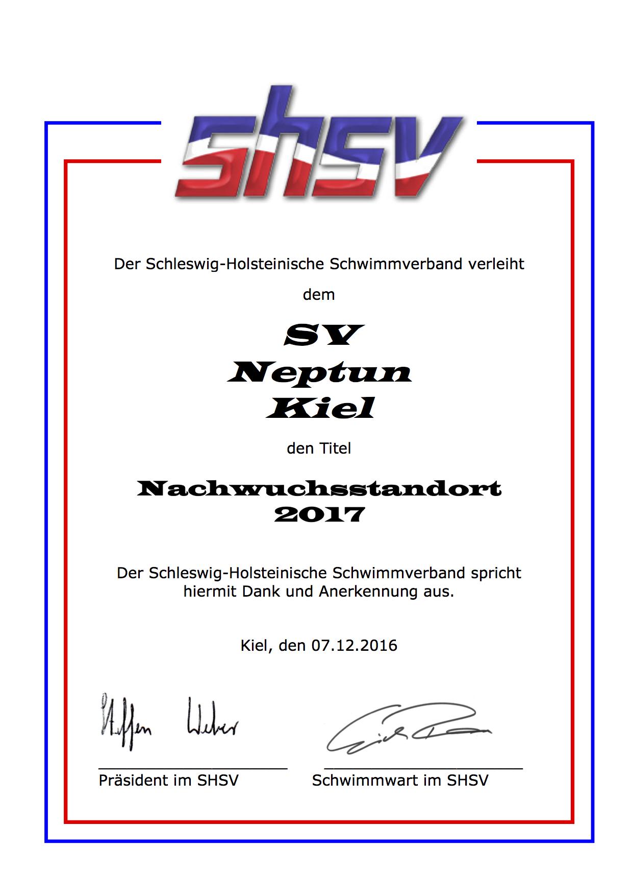 NWS 2017   SV Neptun Kiel